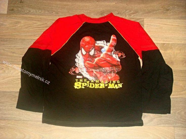 SPIDERMAN bavl.triko vel.9-10let
