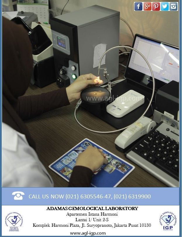 Adamas Gemological Laboratory of Indonesia has highly experienced for many years and is using equipped with world most wanted instruments. Diamond Testing and Screening Machine : Distinguish Natural, Synthetic cvd Diamond and HPHT Synthetic Diamond.