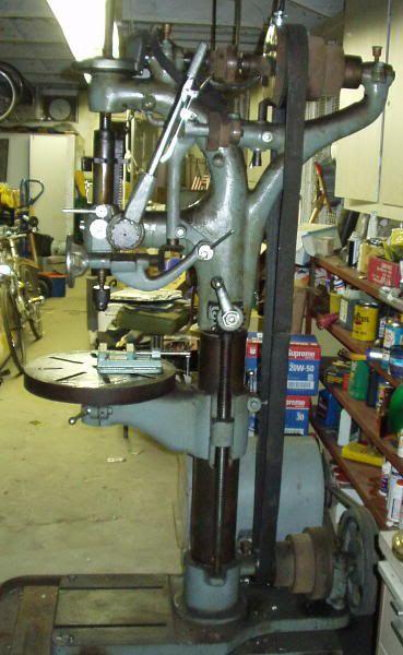 camelback drill press