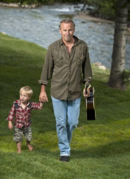 Photo of Kevin Costner & his  Son  Cayden