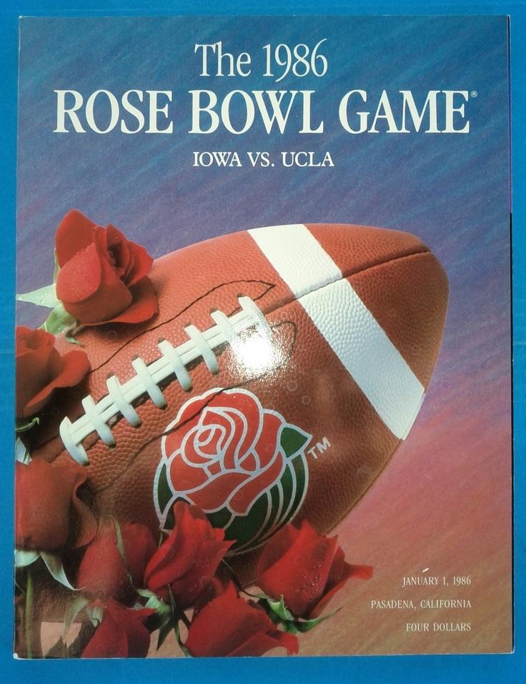 Vintage rose bowl posters