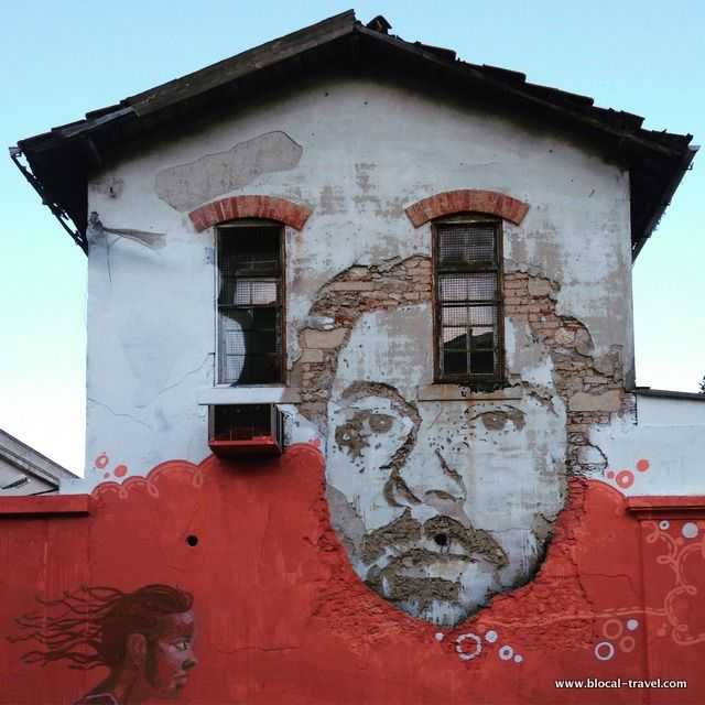 Vhils street art Lisbon >> A comprehensive street art guide of Lisbon, Portugal - Read it here: http://www.blocal-travel.com/street-art/lisbon-street-art-guide/