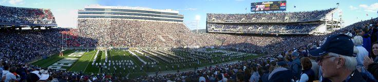 Beaver Stadium -  106,572 seats