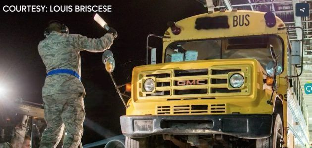 They Can Fly! New Life for Seven Old School Buses Update #Stories #Buses - https://barnfinds.com/can-fly-new-life-seven-old-school-buses-update/