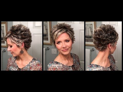 Troubleshooters Guide to Styling a Longer Pixie   In-depth Hair Tutorial – YouTu…