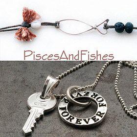 Personalized Jewelry WeddingEverydayGreek by PiscesAndFishes