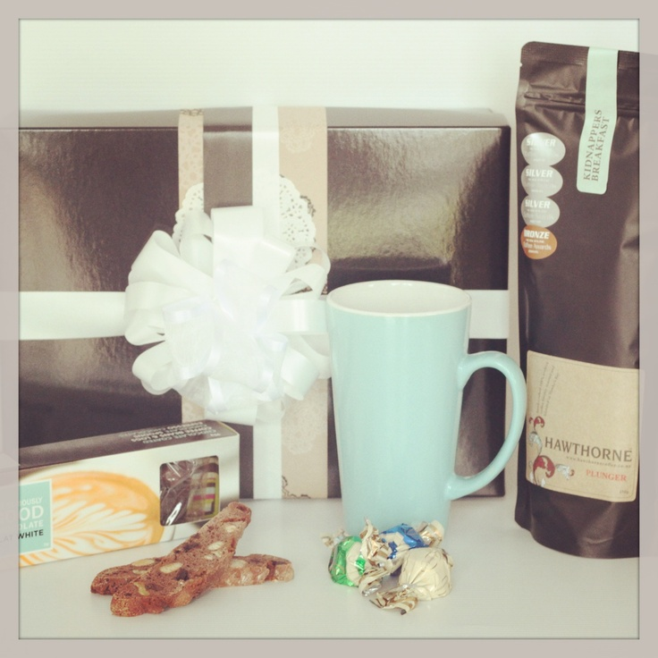 Smell the Coffee hamper for Mothers Day! Order from The Pressie Box: www.thepressiebox.co.nz