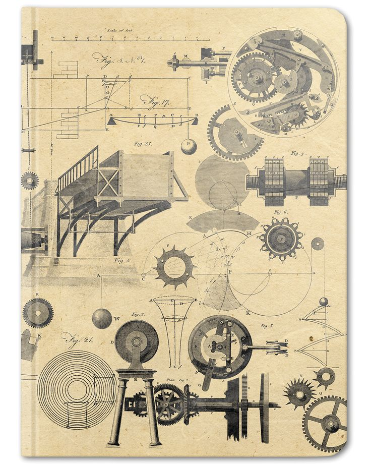 Engineering Hardcover Journal - Large
