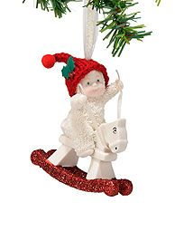 Dept 56 Snowbabies Rockin' Christmas Ornament