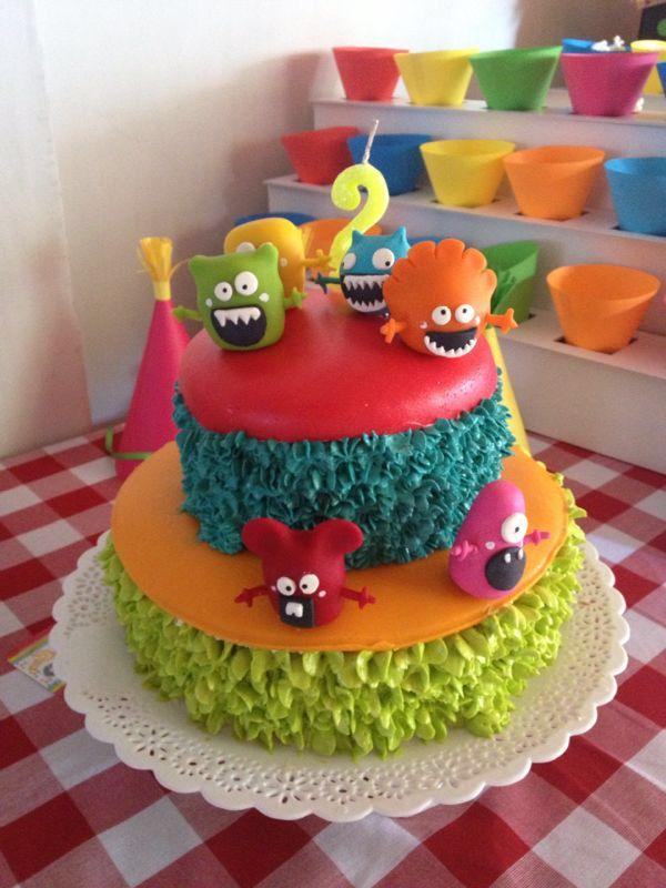Cake monstruos