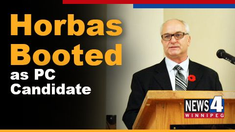 Feb 1 - David Horbas a Tory candidate in Selkirk was fired over alleged  concerns about his campaign performance.