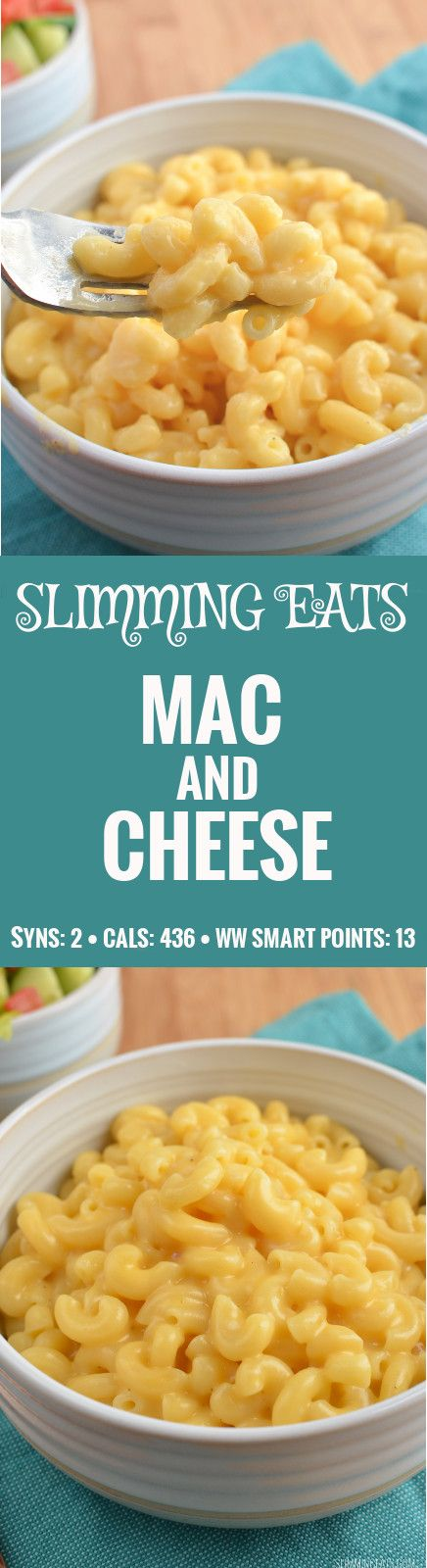 Slimming Eats Quick Mac and Cheese - gluten free, vegetarian, Slimming World and Weight Watchers friendly