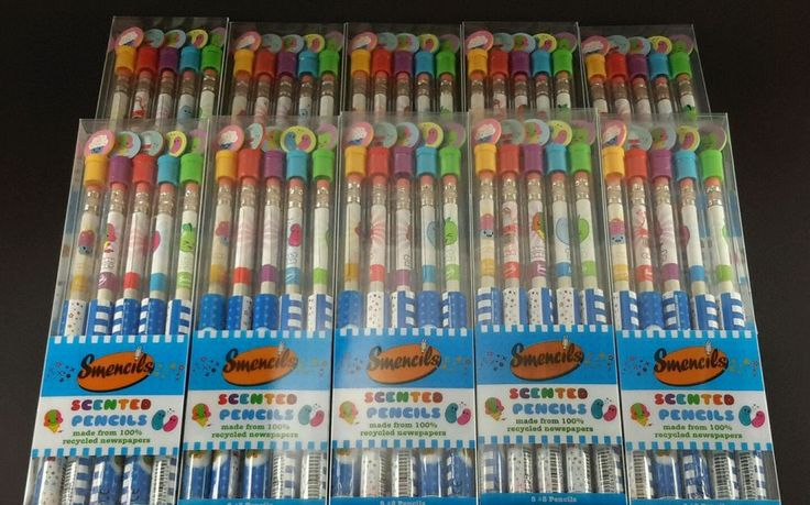 Smencils 50 Scented Pencils Smelly Pencils Individually Packaged Fast Shipping #Smencils