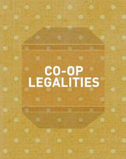 Legal | Cultivating Food Coops