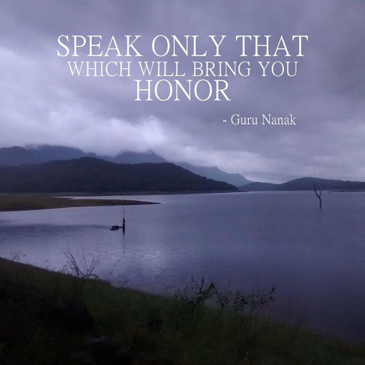 Guru Nanak Jayanti 'Birthday - Quote by Guru Nanak! #gurunanakjayanti #gurunanakquotes #sikhguru #quotes #quotesandsayings #motivationalquotes #inspirationalquotes
