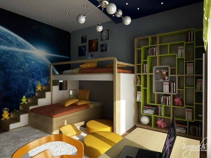 Delightful Colorful, Functional Kidsu0027 Rooms By Neopolis Interior Design   Design  Pursuit Idea