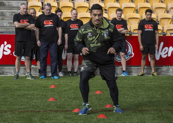 Behind the scenes look at a training session with the @nzwarriors