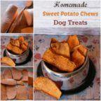 Sweet Potato Dog Chews Recipe