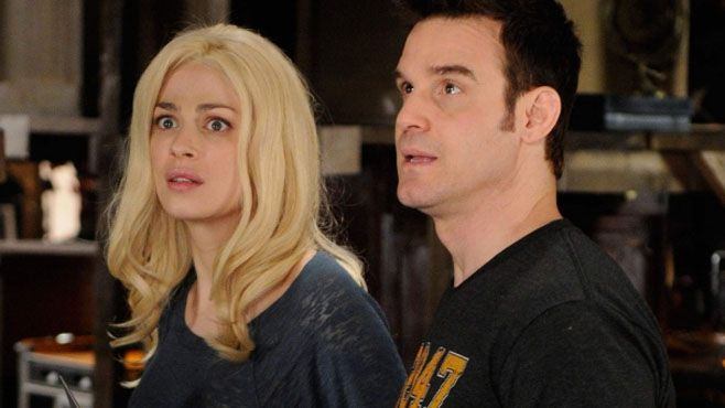 ♡Warehouse 13♡ Myka werking the blonde hair