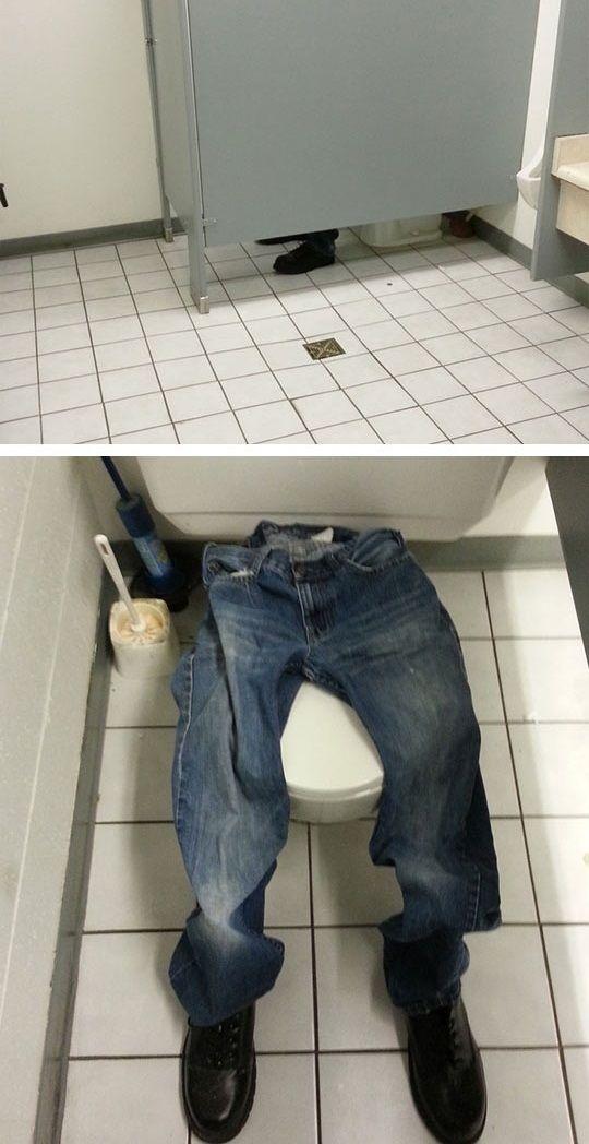 BEST BATHROOM PRANK EVER   ---- hilarious jokes funny pictures walmart fails meme humor