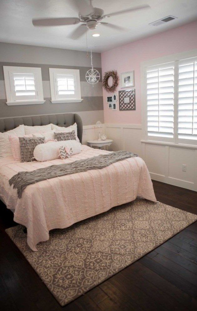 Light Pink Bedding Room Ideas