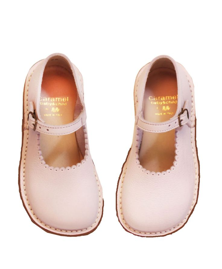 Pink Mary Janes - Caramel Baby & Child Love these looks like a dressed up pair of bear feet xoxox