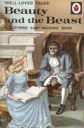BEAUTY AND THE BEAST Vintage Ladybird Book Well Loved Tales Series 606d Matt Hardback 1973