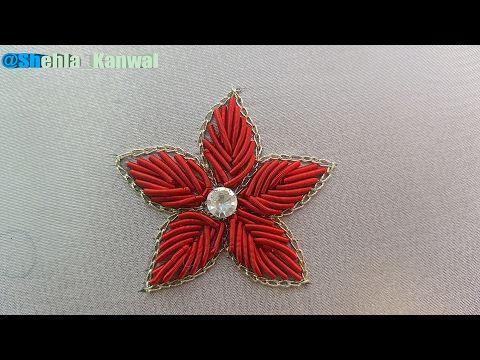 Hand Embroidery |Kora work:Zardosi Work - YouTube