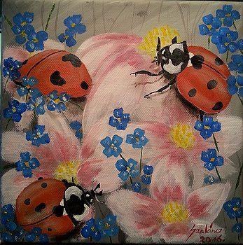 Ladybugs by Judit Szalanczi