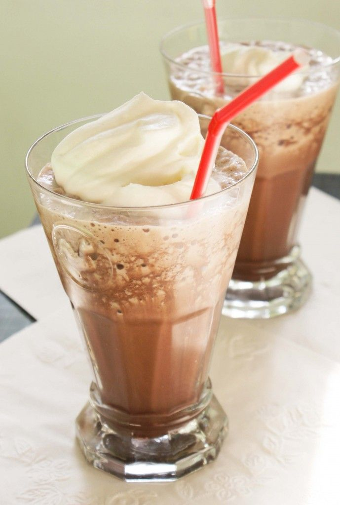 Frozen Hot Chocolate – summer I'm coming…