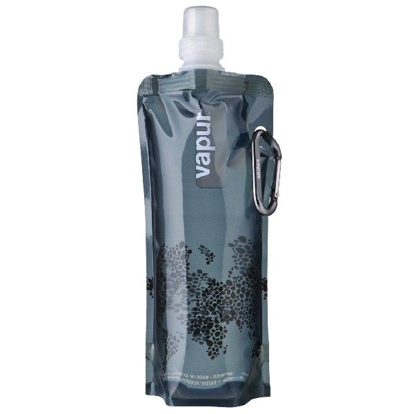 Nice..    The Vapur® Anti-Bottle™ is a foldable, reusable water bottle designed for convenient on-the-go use. Unlike traditional rigid bottles, the Anti-Bottle is flexible. It stands upright when full and can be rolled, folded or flattened when empty - easily fitting into pockets, purses or packs.