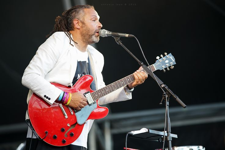 Berg in concert at O Sol da Caparica Festival