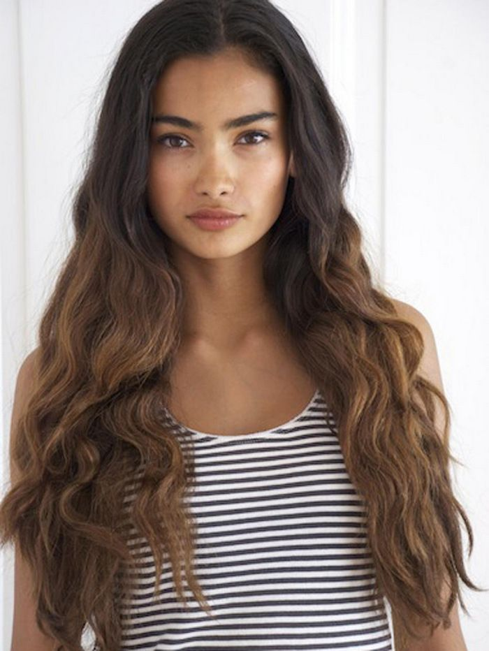 Kelly Gale - dark brown to light brown ombre @Laura Jayson Jayson Jayson wiesner