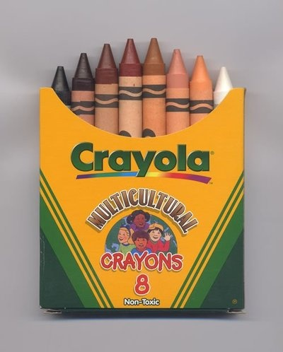Multicultural crayons!