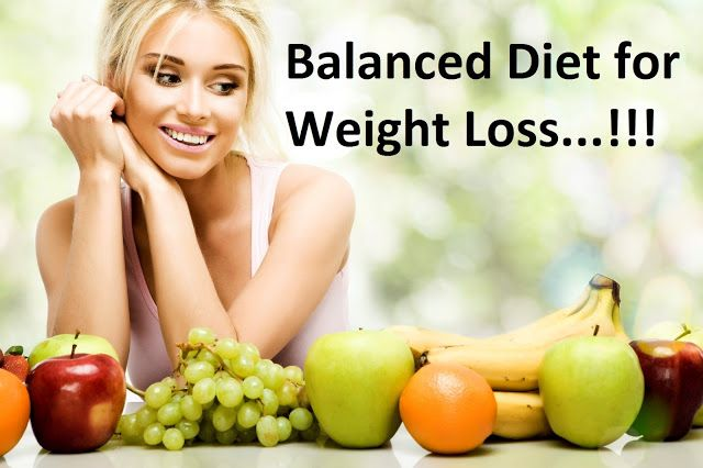 8 Steps Telling a Balanced Diet for Weight Loss