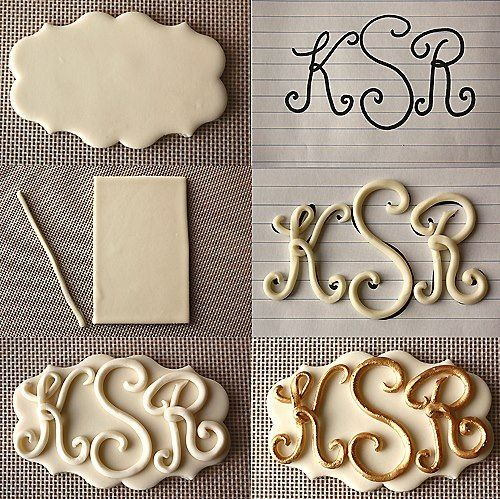 Interesting And Informative Cake Decorating Techniques. wedding cookies