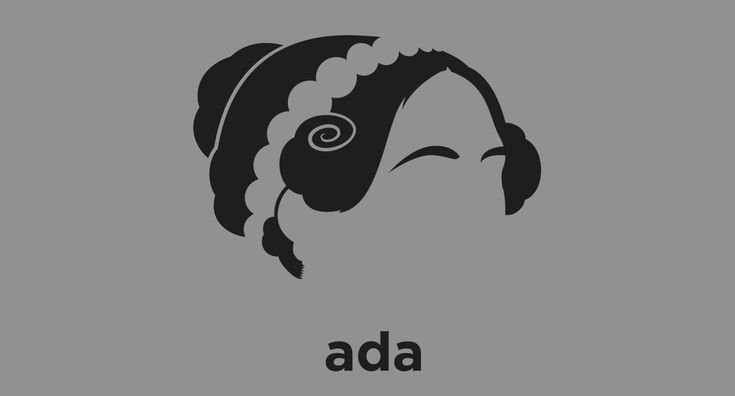 A t-shirt with a minimalist hair based illustration of Mathematician Ada Lovelace: the world's first computer programmer, who wrote code for Charles Babbage's never completed Analytical Engine