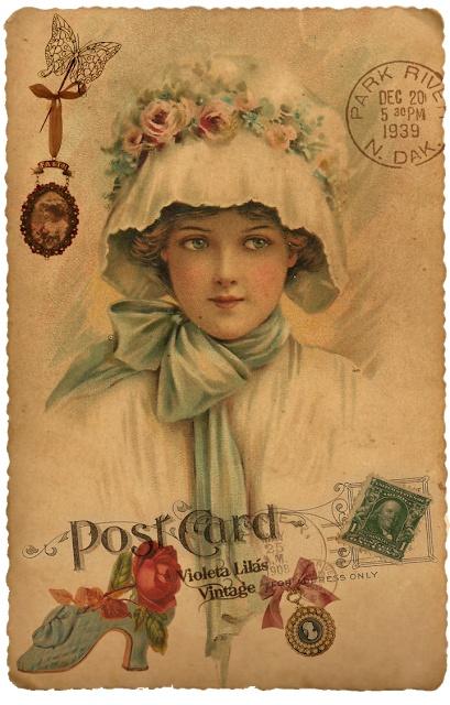 1919 post card Etsy