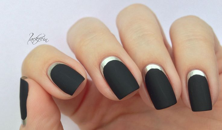 lackfein: Nails Design, Silver Nails, Nails Ideas