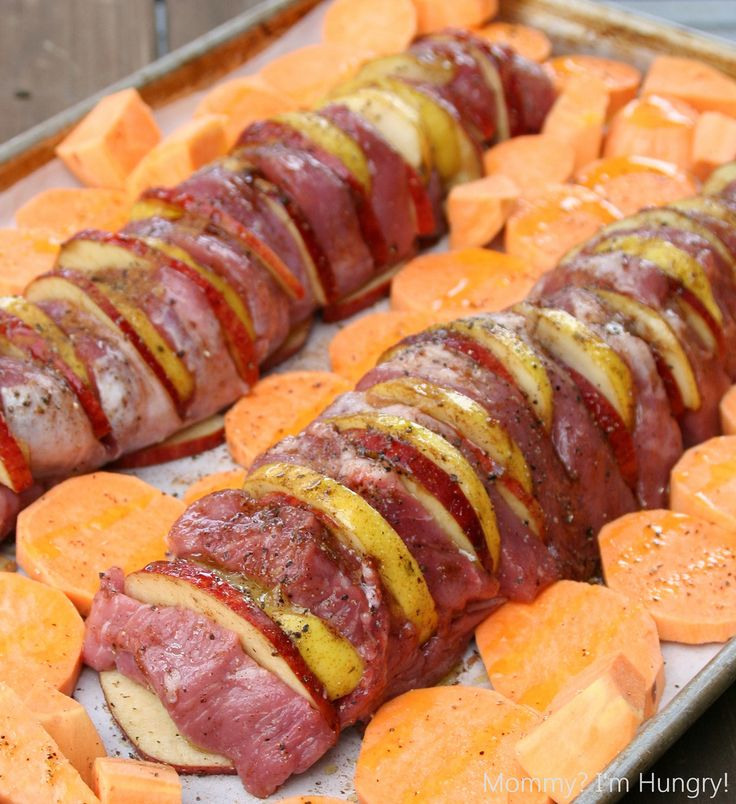 MIH Recipe Blog: Apple and Pear Stuffed Pork Tenderloin ...