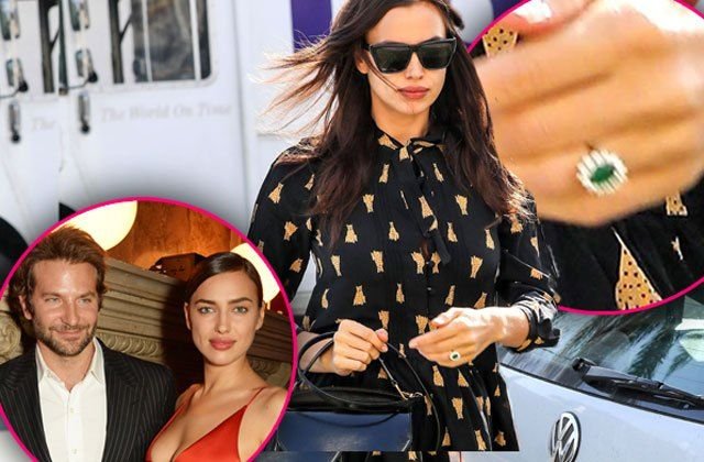 Irina Shayk Engaged with Bradley Cooper. Here is the Engagement Ring!
