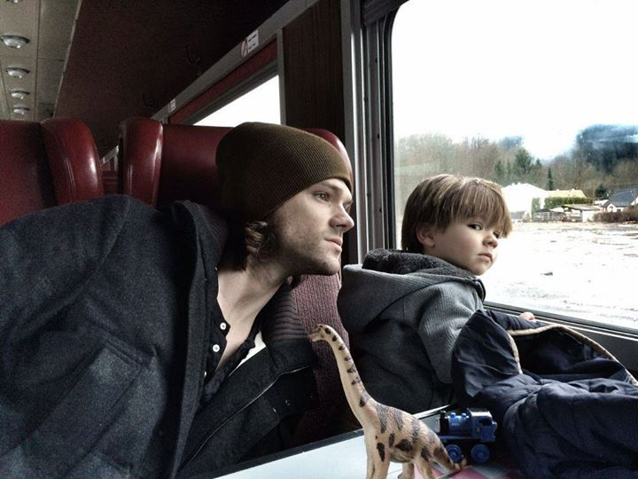 Jared with his little boy, Thomas. » #JaredPadalecki # ...