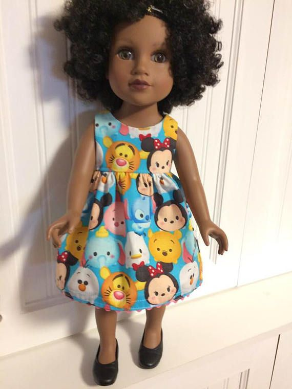 Dress for 18 inch doll can fit American Girl Journey Girl and