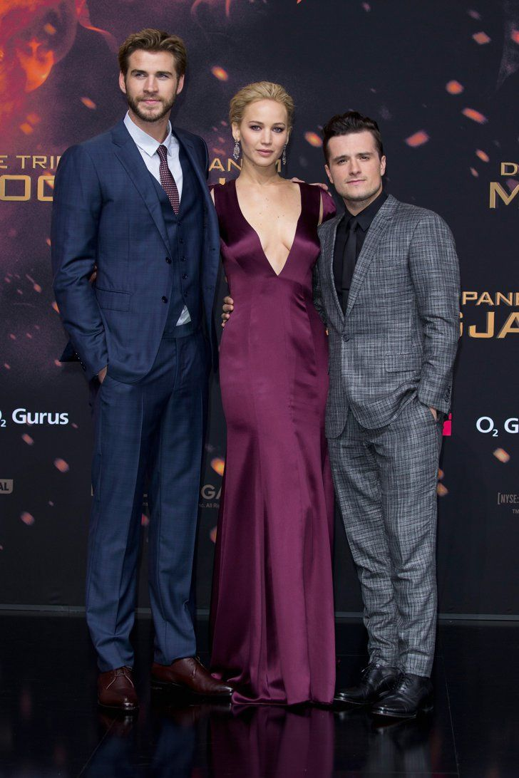 Pin for Later: 16 Bittersweet Moments From the Final Hunger Games Press Tour When Their Red Carpet Squad Game Was So, So Strong
