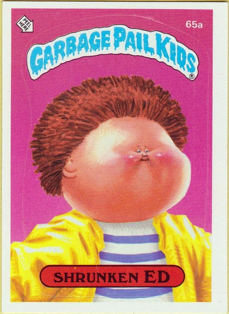 17 Best Images About Garbage Pail Kids Stickers On