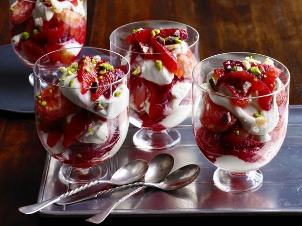 Blood Orange Trifles Recipe : Food Network Kitchens : Food Network - FoodNetwork.com