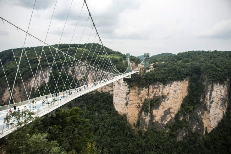 Najdłuższy i najwyższy szklany most na świecie