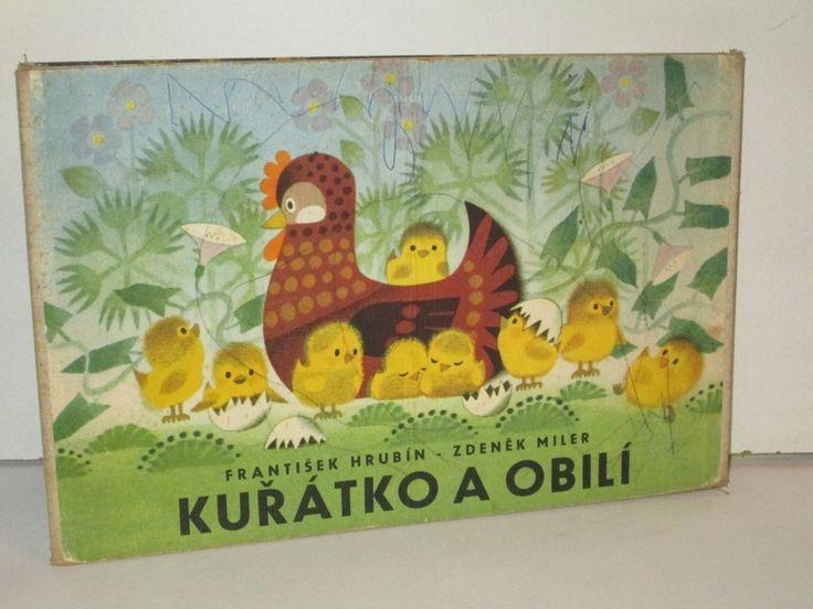 Kuřátko a obilí - dětské leporelo