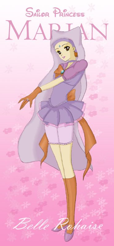 Disney Sailor Moon Princess Maid Marian (Robin Hood)