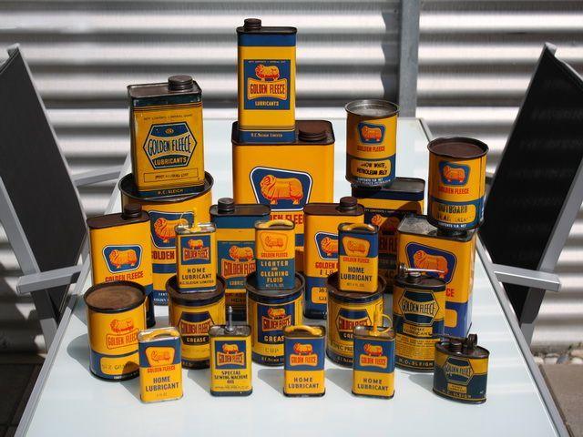 Golden Fleece tin collection
